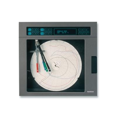 Registrador grafico papel circular
