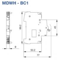 Magnetotérmicos MDWH