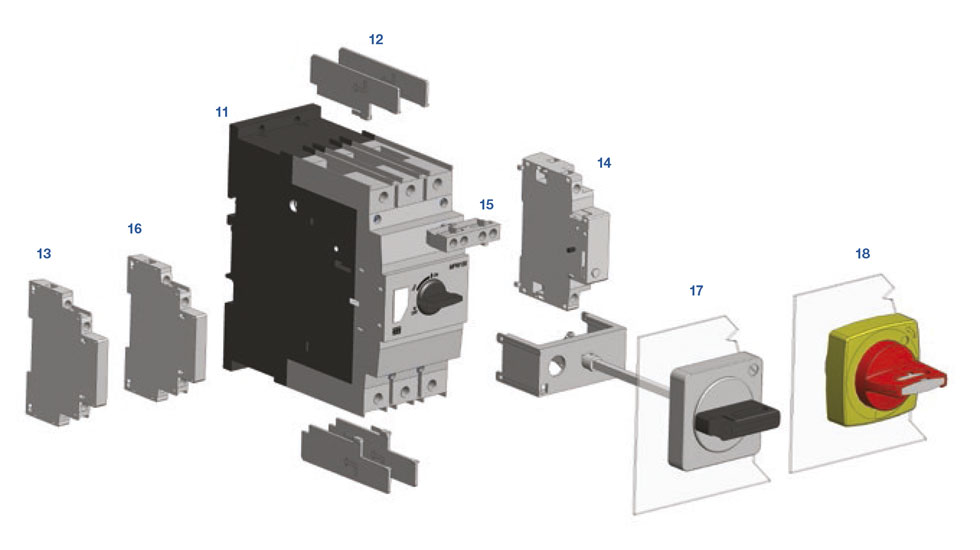 Guardamotor MPW100