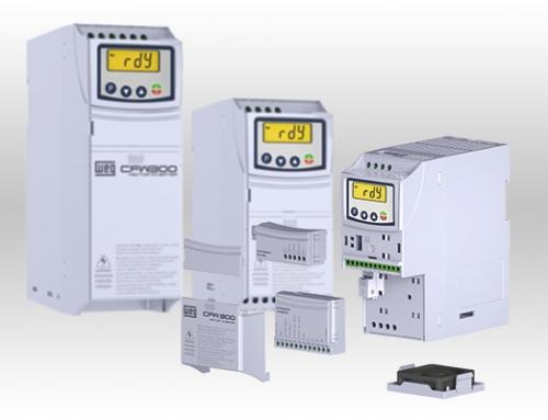 Nueva gama de variadores de velocidad WEG