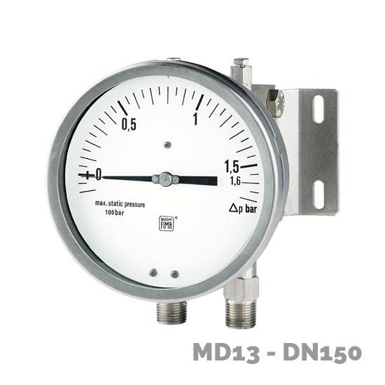 manometro diferencial md13 dn150 - Nuova Fima
