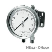manometro diferencial md14 dn100-150  - Nuova Fima
