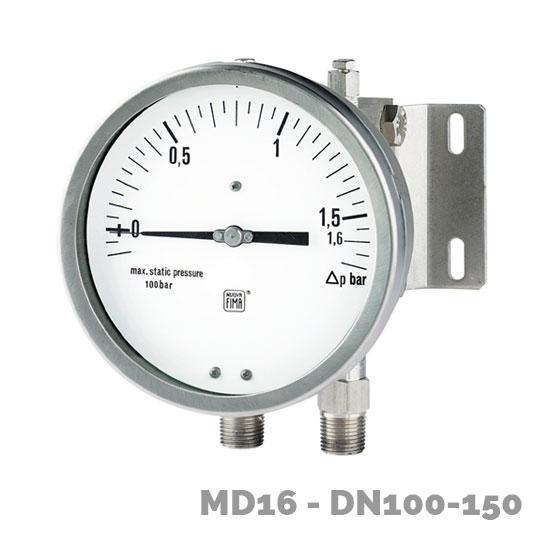 manometro diferencial md16 dn100-150  - Nuova Fima