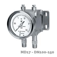 manometro diferencial md17 dn100-150  - Nuova Fima