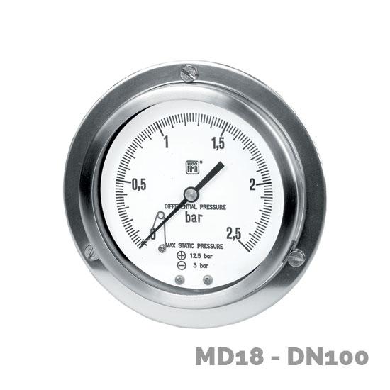 manometro diferencial md18 dn100-150  - Nuova Fima