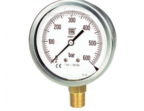 Manómetros en aleación de cobre