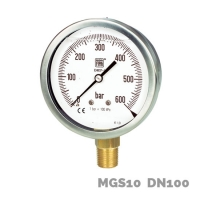 Manómetro en aleación de cobre MGS10 DN100 - Nuova Fima