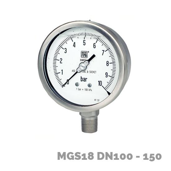 Manómetro mgs18 dn100-150 - Nuova Fima