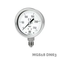 Manómetro mgs18 dn63 - Nuova Fima