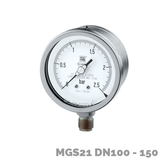 Manómetro mgs21 dn100-150 - Nuova Fima