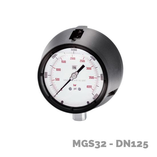 manómetro alta presión mgs32 dn125 - Nuova Fima