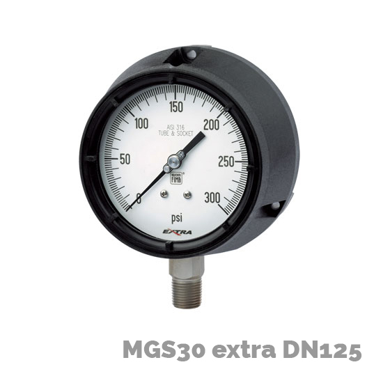 Manómetro mgs30 extra dn125 - Nuova Fima