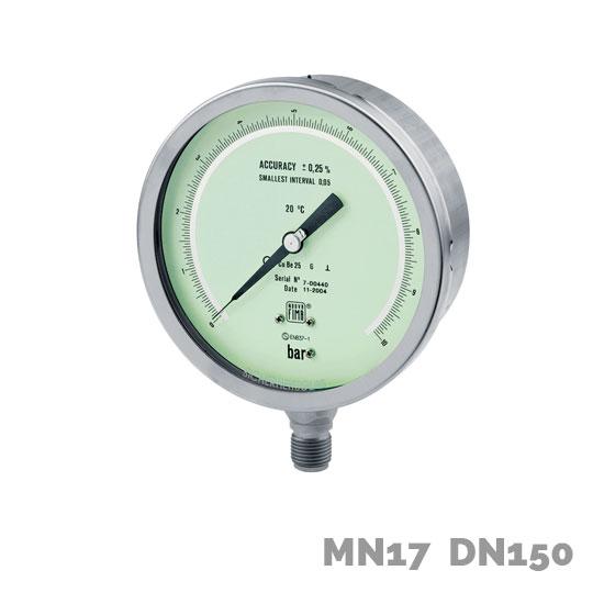 Manómetro de precisión MN17 DN150 - Nuova Fima