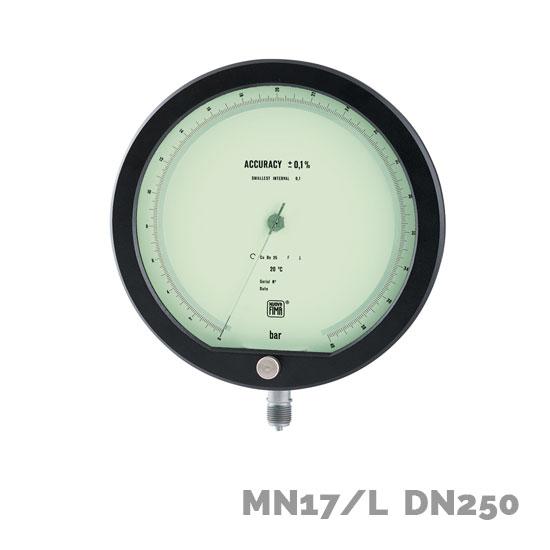 Manómetro de precisión MN17/L DN250 - Nuova Fima