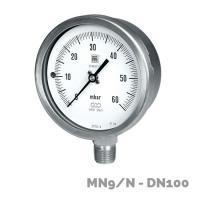 Manómetros para baja presión MN9/N DN100 - Nuova Fima