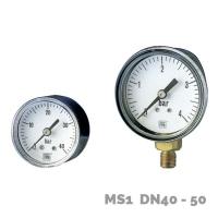 Manómetro en aleación de cobre MS1 DN40-50 - Nuova Fima