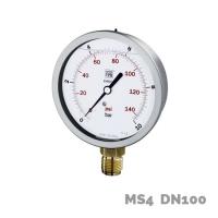 Manómetro en aleación de cobre MS4 DN100 - Nuova Fima