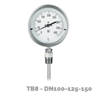 termómetro tb8 dn100-125-150 - Nuova Fima
