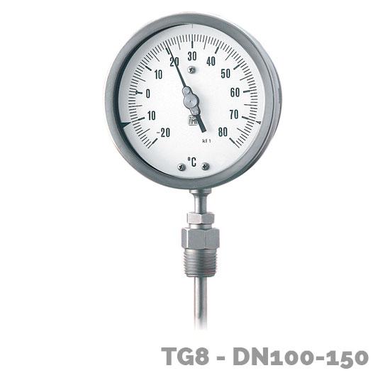 termómetro tg8 dn-100-150 - Nuova Fima