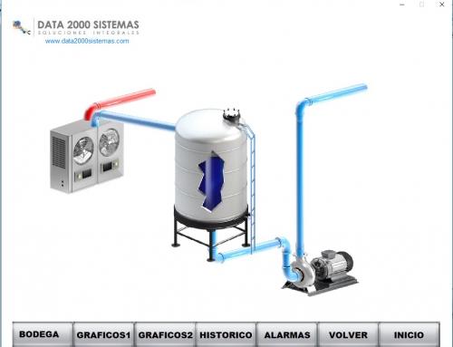 Control de fermentación en bodega de vino