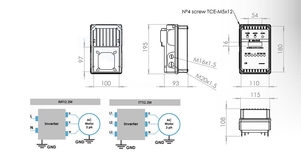 Datos técnicos IMTI2.2M ITTI2.2M
