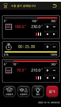controlador para horno de panaderia FOD 3000