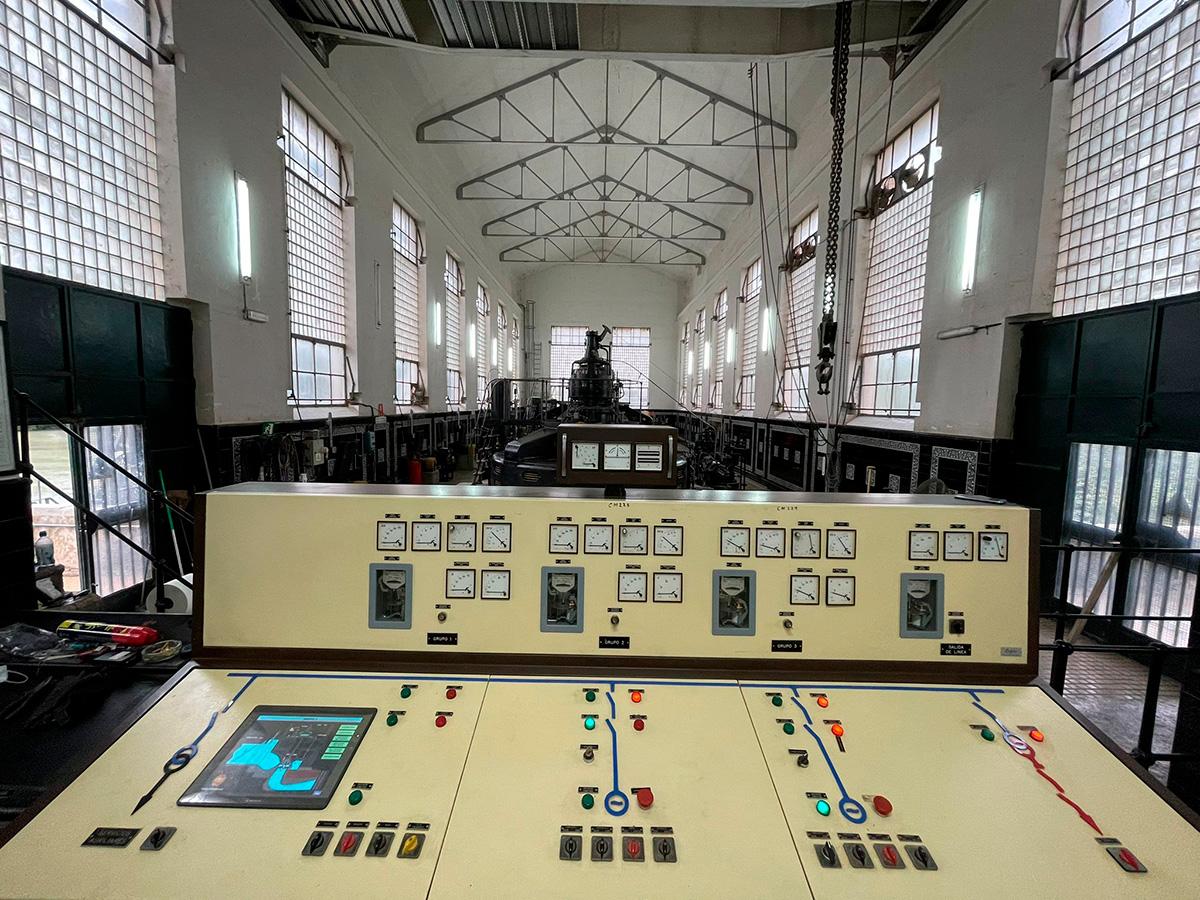 Restauracion de sistema de supervision y control, salto eléctrico de Valderrivas